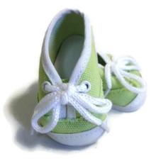 Canvas Tennis Shoes-Green
