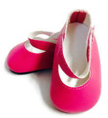 Mary Janes-Bright Pink