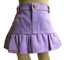 Ruffled Skirt-Lavender