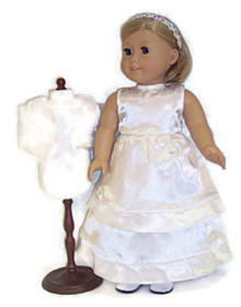 Wedding/Communion Gown, Jacket, & Headband