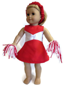 Cheerleader-Red & White