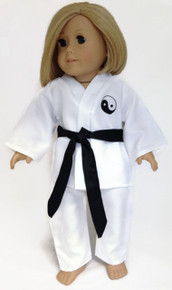 Karate with Black Belt