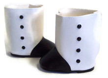 Victorian Boots-Black & White