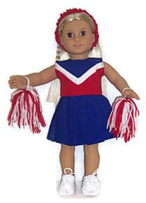 Cheerleader-Red, White, & Blue