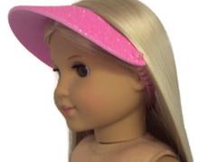 Visor-Pink Glitter