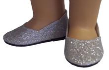 Princess Shoes-Silver Sparkle