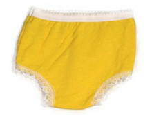 Panty-Yellow Cotton Knit