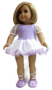 Ballerina & Slippers-Lavender