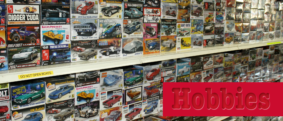 Plastic Model Kits for all ages and skill levels