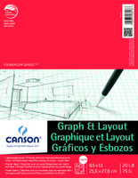 FOUNDATIONS GRAPH AND LAYOUT CROSS SECTION 4/4 GRID 8.5X11