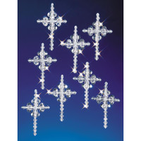 Crystal Crosses 2'' Makes 24