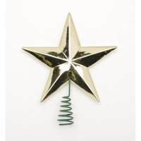 Star Tree Topper - Medium - Gold - 2 inches