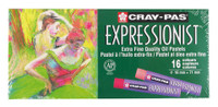 CRAY PAS EXPRESSIONIST EXTRA FINE OIL PASTELS 16 CLR SET