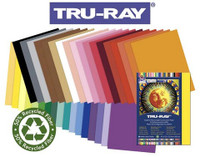 TRU RAY SULPHITE CONSTRUCTION YELLOW 50 PACK 9X12