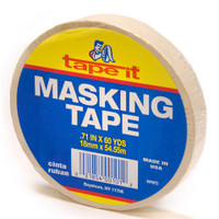 Masking Tape - 3/4 inch x 60 yards