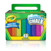 CRAYOLA SIDEWALK CHALK ASSORTED 48 PIECES