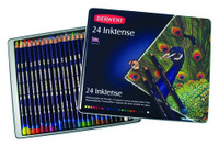 DERWENT INKTENSE PENCIL 24 COLOUR TIN SET