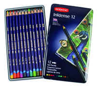 DERWENT INKTENSE PENCIL 12 COLOUR TIN SET