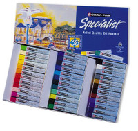 CRAY PAS SPECIALIST ARTISTS OIL PASTELS 36 COLOR SET