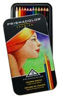 PRISMACOLOR PREMIER COLORED PENCIL 12 COLOR TIN SET