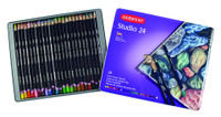 DERWENT STUDIO PENCIL 24 COLOUR TIN SET