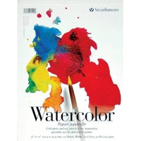 Strathmore - Watercolor - 200 Series - 9in. x 12in.  Pad