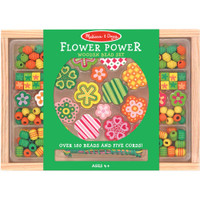 Wooden Bead Set – Flower Power