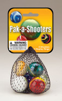 PAK-A-SHOOTERS (1in.) ASSORTED NET