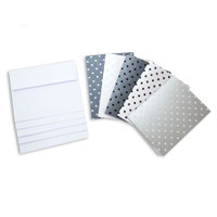 Core'dinations Cards and Envelopes - Pearl Polka Dot Pop - A2 - 40 sets