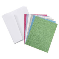 Core'dinations Cards and Envelopes - Glitter Brights - A2 - 36 sets