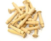 Wood Shaker Peg - 1-3/4 inches - 25 pieces - Big Value