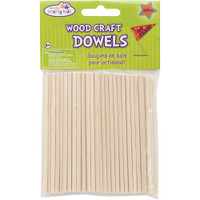 Wood Craft Dowels 4""