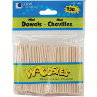 Woodsies Mini Dowels 2-5/8""