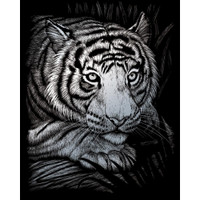 White Tiger – Engrave Art