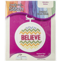 Believe Mini Counted Cross Stitch Kit