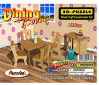 3D Puzzles - Dinning Room
