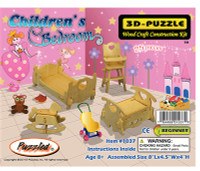 3D Puzzles - Children's Bedroom