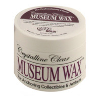 Crystalline Clear Museum Wax -2 oz