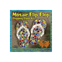 Flip Flop –- Mosaic Stepping Stone Kit