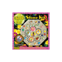 Marble –- Mosaic Stepping Stone Kit