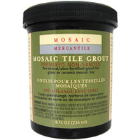 Black – Mosaic Tile Grout 8oz