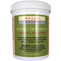 White – Mosaic Tile Grout 8oz