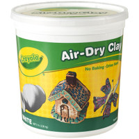 Crayola Air-Dry Clay 5lb – White