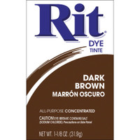 Rit Dye Powder - Dark Brown