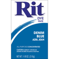 Rit Dye Powder - Denim Blue