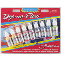 Jacquard Dye-Na-Flow Exciter Pack .5oz 9/Pkg
