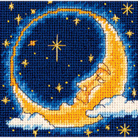 Dimensions - Moon Dreamer Mini Needlepoint