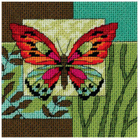 Dimensions - Butterfly Impression Mini Needlepoint