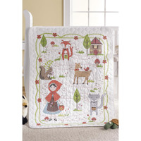 Bucilla - Little Red Riding Hood Crib