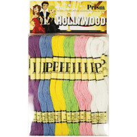 Prism 6-Strand Floss Pack 8.7yd 24/Pkg – Hollywood